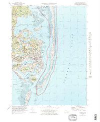 Download a high-resolution, GPS-compatible USGS topo map for Chatham, MA (1978 edition)