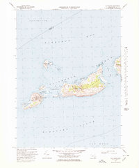 Download a high-resolution, GPS-compatible USGS topo map for Cuttyhunk, MA (1978 edition)