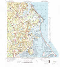 Download a high-resolution, GPS-compatible USGS topo map for Duxbury, MA (1978 edition)