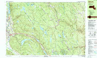 Download a high-resolution, GPS-compatible USGS topo map for East Lee, MA (1987 edition)