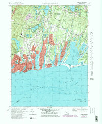 Download a high-resolution, GPS-compatible USGS topo map for Falmouth, MA (1979 edition)