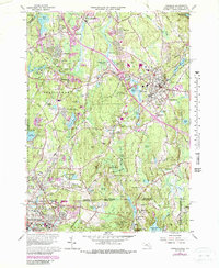 Download a high-resolution, GPS-compatible USGS topo map for Franklin, MA (1979 edition)