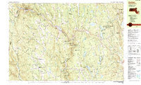 Download a high-resolution, GPS-compatible USGS topo map for Goshen, MA (1990 edition)