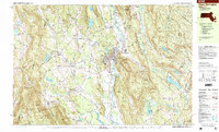 Download a high-resolution, GPS-compatible USGS topo map for Great Barrington, MA (1999 edition)