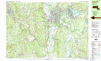 Download a high-resolution, GPS-compatible USGS topo map for Greenfield, MA (1990 edition)