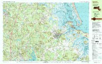 Download a high-resolution, GPS-compatible USGS topo map for Ipswich, MA (1999 edition)