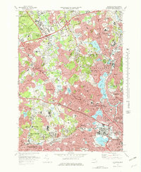 Download a high-resolution, GPS-compatible USGS topo map for Lexington, MA (1978 edition)