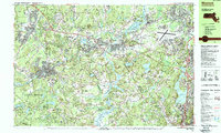 Download a high-resolution, GPS-compatible USGS topo map for Maynard, MA (1987 edition)