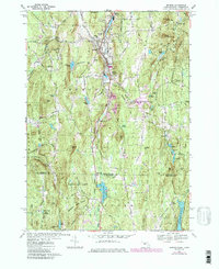 Download a high-resolution, GPS-compatible USGS topo map for Monson, MA (1985 edition)