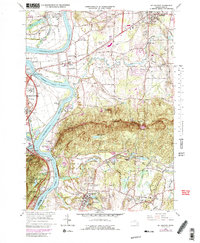 Download a high-resolution, GPS-compatible USGS topo map for Mt Holyoke, MA (1991 edition)
