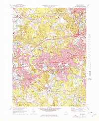 Download a high-resolution, GPS-compatible USGS topo map for Natick, MA (1978 edition)
