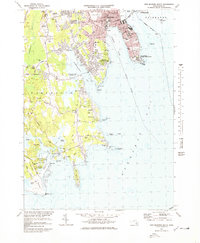 Download a high-resolution, GPS-compatible USGS topo map for New Bedford South, MA (1979 edition)