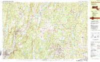 Download a high-resolution, GPS-compatible USGS topo map for North Brookfield, MA (1984 edition)