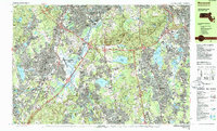 Download a high-resolution, GPS-compatible USGS topo map for Norwood, MA (1986 edition)