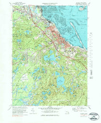 Download a high-resolution, GPS-compatible USGS topo map for Plymouth, MA (1984 edition)
