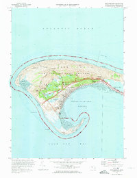 Download a high-resolution, GPS-compatible USGS topo map for Provincetown, MA (1974 edition)