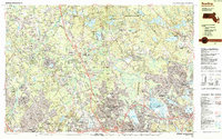 Download a high-resolution, GPS-compatible USGS topo map for Reading, MA (1987 edition)