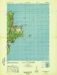 Download a high-resolution, GPS-compatible USGS topo map for Rockport, MA (1947 edition)