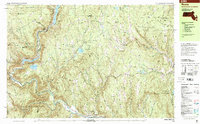 Download a high-resolution, GPS-compatible USGS topo map for Rowe, MA (2001 edition)