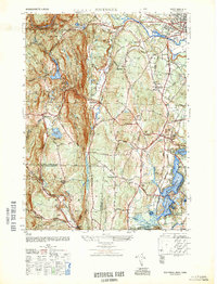 Download a high-resolution, GPS-compatible USGS topo map for Southwick, MA (1948 edition)