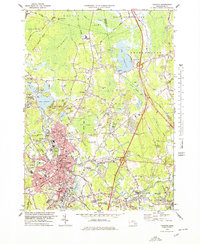 Download a high-resolution, GPS-compatible USGS topo map for Taunton, MA (1979 edition)