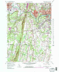 Download a high-resolution, GPS-compatible USGS topo map for West Springfield, MA (1979 edition)