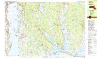 Download a high-resolution, GPS-compatible USGS topo map for Westport, MA (1985 edition)
