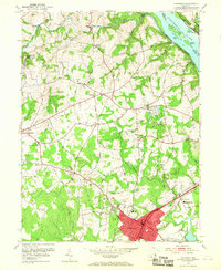Download a high-resolution, GPS-compatible USGS topo map for Aberdeen, MD (1968 edition)
