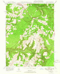Download a high-resolution, GPS-compatible USGS topo map for Accident, MD (1966 edition)