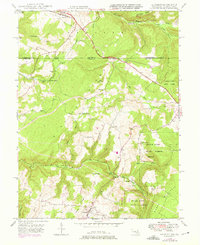 Download a high-resolution, GPS-compatible USGS topo map for Accident, MD (1975 edition)