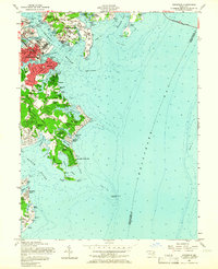 Download a high-resolution, GPS-compatible USGS topo map for Annapolis, MD (1966 edition)