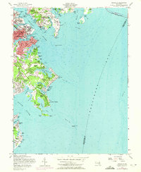 Download a high-resolution, GPS-compatible USGS topo map for Annapolis, MD (1971 edition)