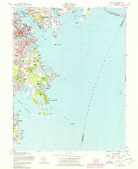 Download a high-resolution, GPS-compatible USGS topo map for Annapolis, MD (1976 edition)