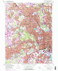 Download a high-resolution, GPS-compatible USGS topo map for Baltimore West, MD (1975 edition)