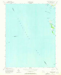 Download a high-resolution, GPS-compatible USGS topo map for Barren Island, MD (1971 edition)