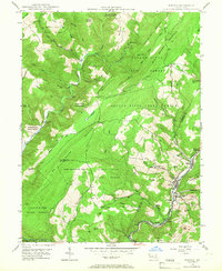 Download a high-resolution, GPS-compatible USGS topo map for Barton, MD (1966 edition)