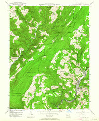 Download a high-resolution, GPS-compatible USGS topo map for Barton, MD (1964 edition)