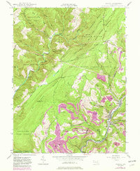 Download a high-resolution, GPS-compatible USGS topo map for Barton, MD (1982 edition)
