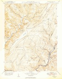 Download a high-resolution, GPS-compatible USGS topo map for Barton, MD (1949 edition)