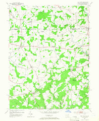 Download a high-resolution, GPS-compatible USGS topo map for Bay View, MD (1967 edition)