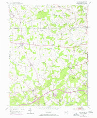 Download a high-resolution, GPS-compatible USGS topo map for Bay View, MD (1971 edition)
