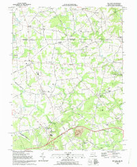 Download a high-resolution, GPS-compatible USGS topo map for Bay View, MD (1993 edition)