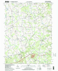 Download a high-resolution, GPS-compatible USGS topo map for Bay View, MD (1999 edition)