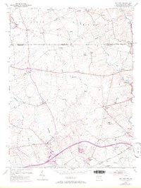 Download a high-resolution, GPS-compatible USGS topo map for Bay View, MD (1972 edition)
