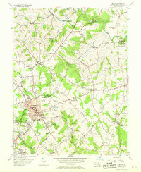 Download a high-resolution, GPS-compatible USGS topo map for Bel Air, MD (1969 edition)