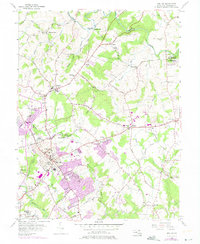 Download a high-resolution, GPS-compatible USGS topo map for Bel Air, MD (1975 edition)