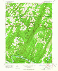Download a high-resolution, GPS-compatible USGS topo map for Bellegrove, MD (1965 edition)