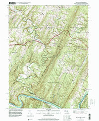 Download a high-resolution, GPS-compatible USGS topo map for Bellegrove, MD (1999 edition)