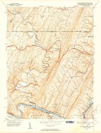 Download a high-resolution, GPS-compatible USGS topo map for Bellegrove, MD (1952 edition)