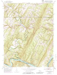 Download a high-resolution, GPS-compatible USGS topo map for Bellegrove, MD (1986 edition)